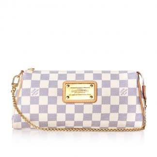 Louis Vuitton Pochette Eva Damier White