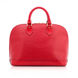 Louis Vuitton Red Alma