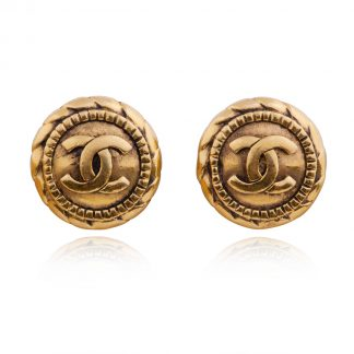 Vintage Chanel Clip Earrings