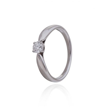 Tiffany Platinum Diamond Vintage Ring