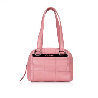 Chanel Pink Boston Bag