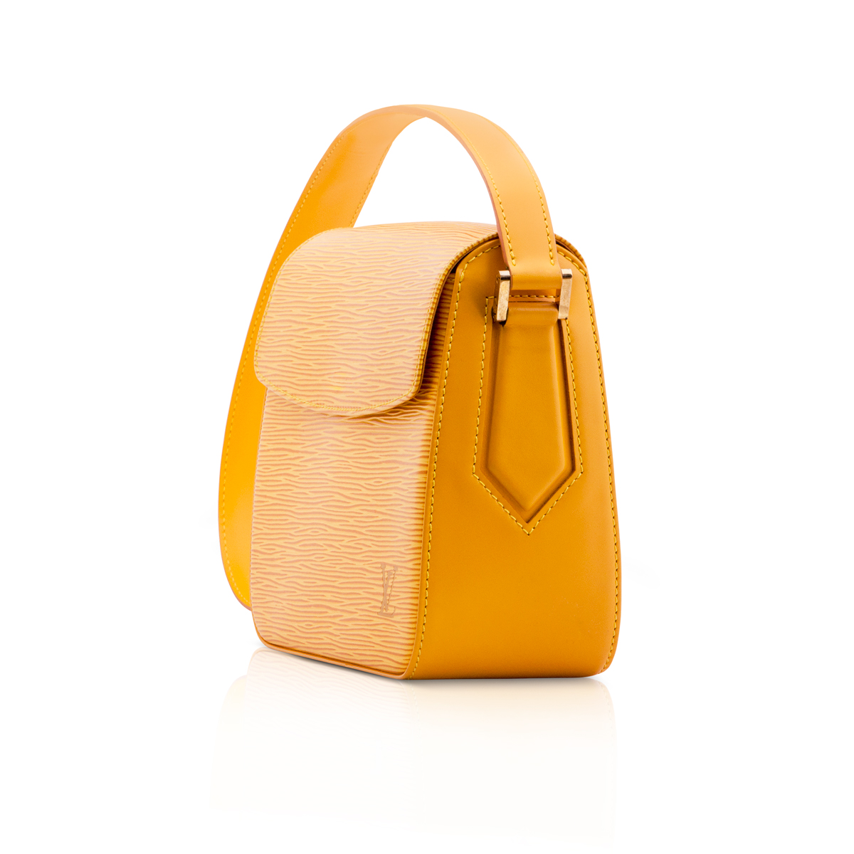 dfe9a97b068c louis vuitton yellow bag - Seasons Vintage