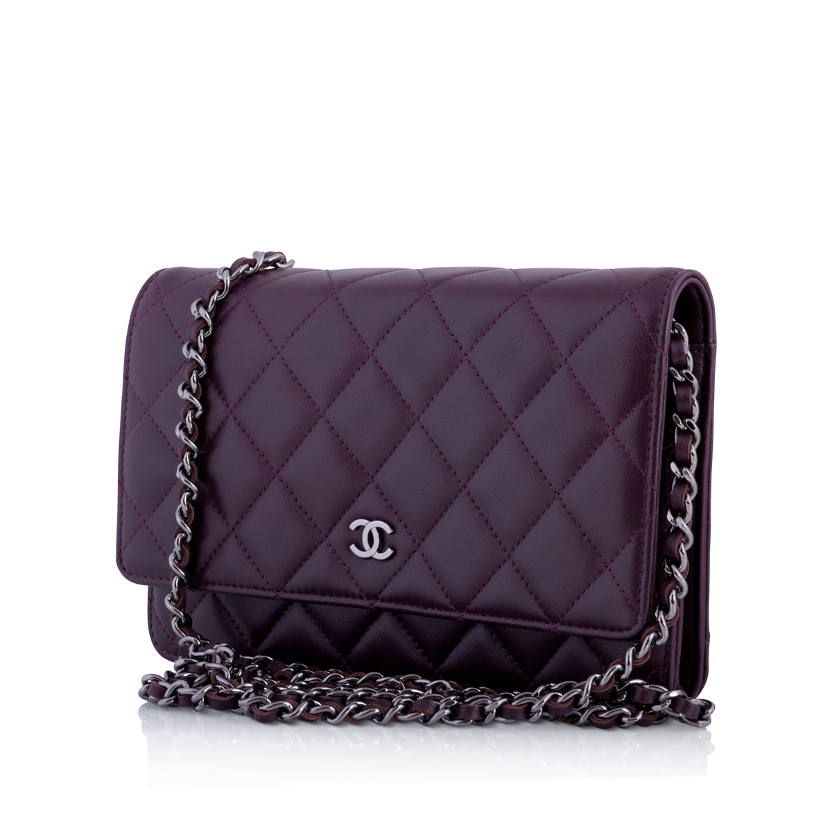 f9dcf9244f71 Chanel Woc Purple - Seasons Vintage